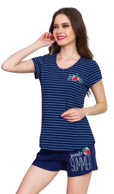 Dámské pyžamo Vienetta Secret šortky Summer