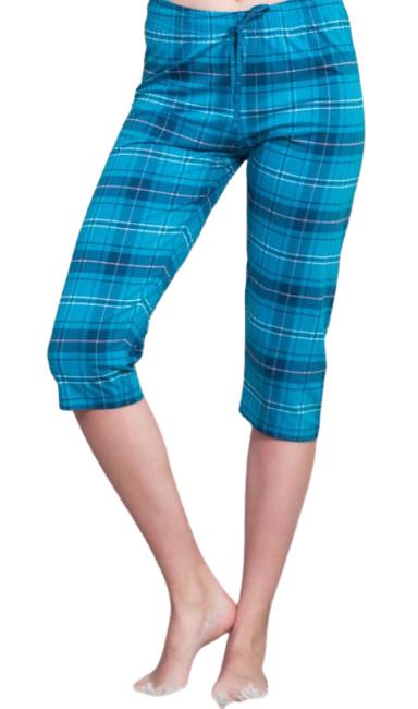 Dámské pyžamové kapri kalhoty Vienetta Secret Dagmar