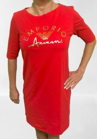 Dámské šaty Emporio Armani 164333 0P291 červená