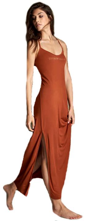 Dámské šaty Emporio Armani 262483 bronzové
