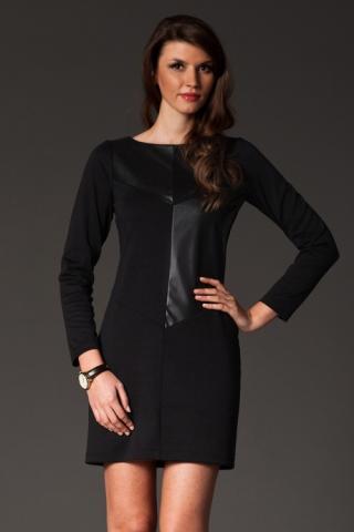 Dámské šaty FIGL M148 černé výprodej