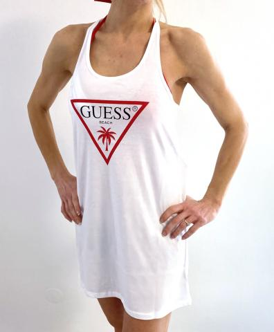 Dámské šaty Guess 02I02 bílá