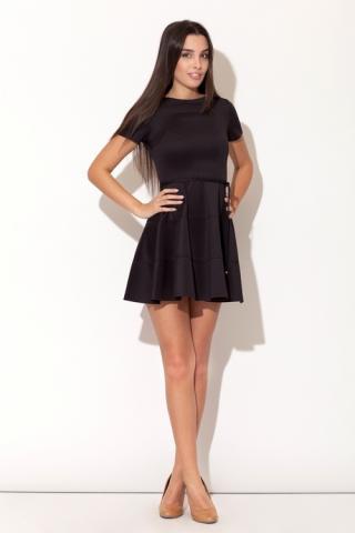 Dámské šaty Katrus K090 černé