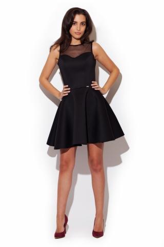 Dámské šaty Katrus K238 černé