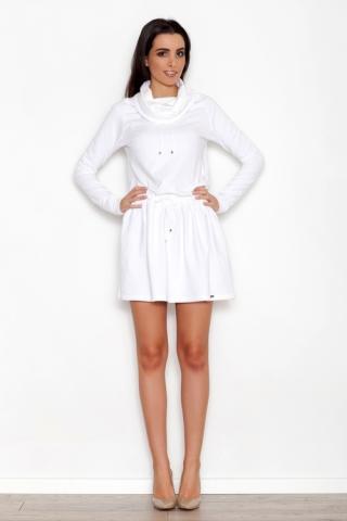 Dámské šaty Katrus K260 krémové