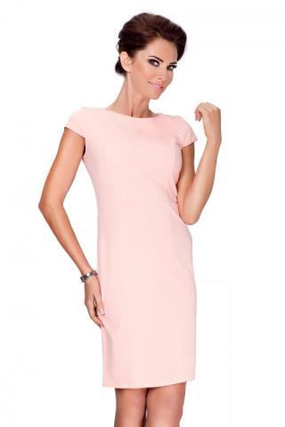 Dámské šaty Numoco 37-1 růžová