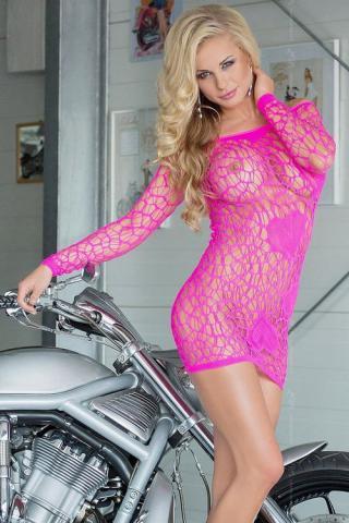 Dámské šaty Softline collection 6021 Sweetheart růžové