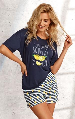 Dámské šortkové pyžamo Litex 5B437