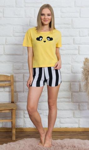 Dámské šortkové pyžamo Vienetta Secret Paula