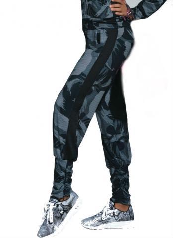 Dámské sportovní kalhoty BasBleu Athena pants multicolor