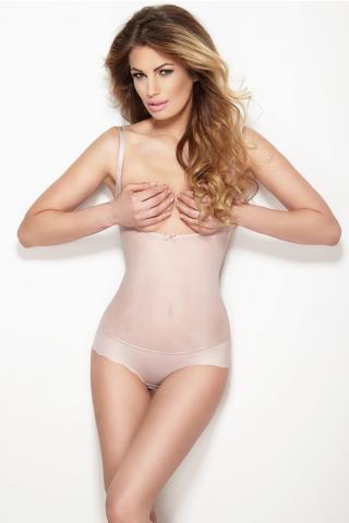 Dámské stahovací body Mitex Glam string pink
