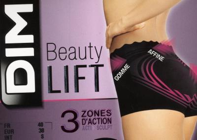 Dámské stahovací kalhotky DIM D003S Beauty bottom up