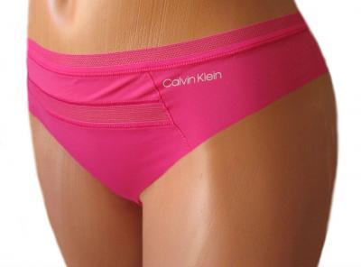 Dámské tanga Calvin Klein QD3692E růžové