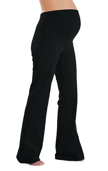 Dámské těhotenské leggings do zvonu Litex 99413