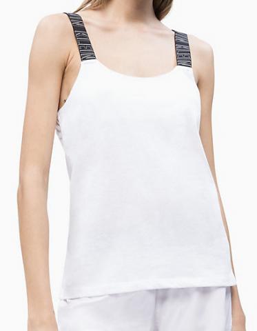 Dámské tílko Calvin Klein KW0KW00691 bílé
