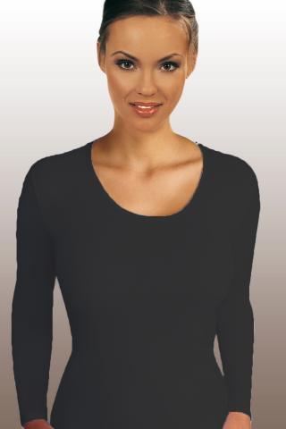 Dámské tričko Emili Lena plus černé