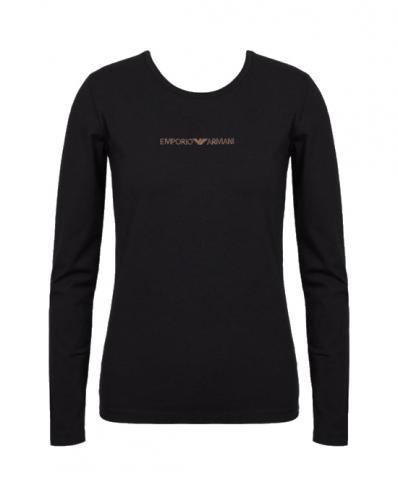 Dámské tričko Emporio Armani 163229 9A219 černá