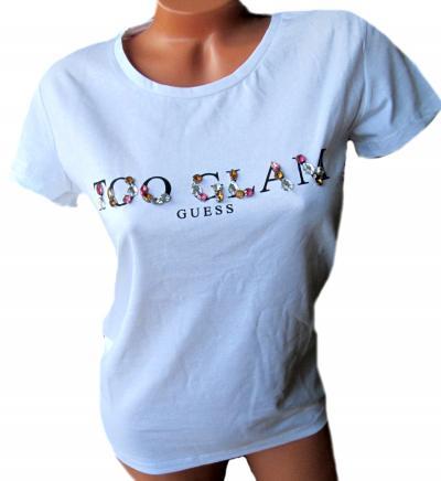 Dámské tričko Gues O92I02 bílé