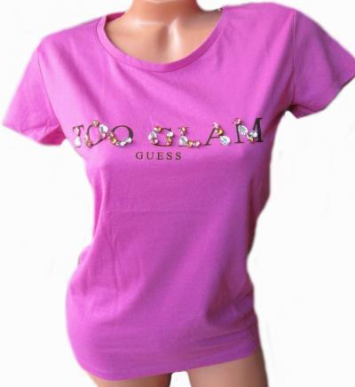 Dámské tričko Gues O92I02 růžová