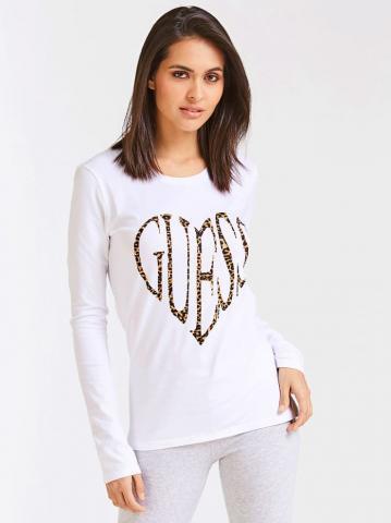 Dámské tričko Guess O94I11 bílé