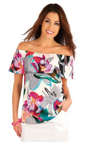 Dámské tričko Litex 58015 s volánem