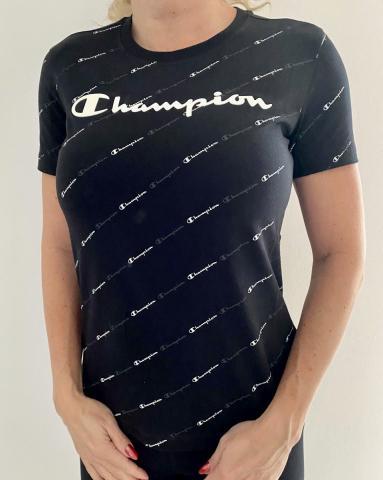 Dámské triko Champion 113224 overprint