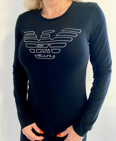 Dámské triko Emporio Armani 163229 0A232 Christmas Eagle