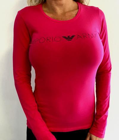 Dámské triko Emporio Armani 163229 0A317 růžová