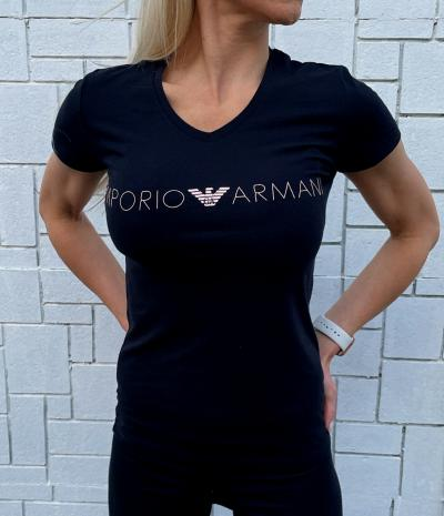 Dámské triko Emporio Armani 163321 1P227 černá