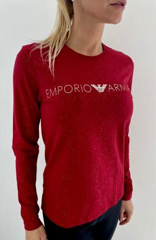 Dámské triko Emporio Armani 164273 1A225 červená