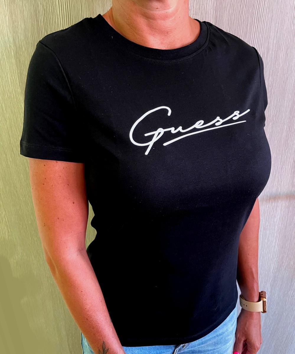 Dámské triko Guess Amelia O1BA08 černá