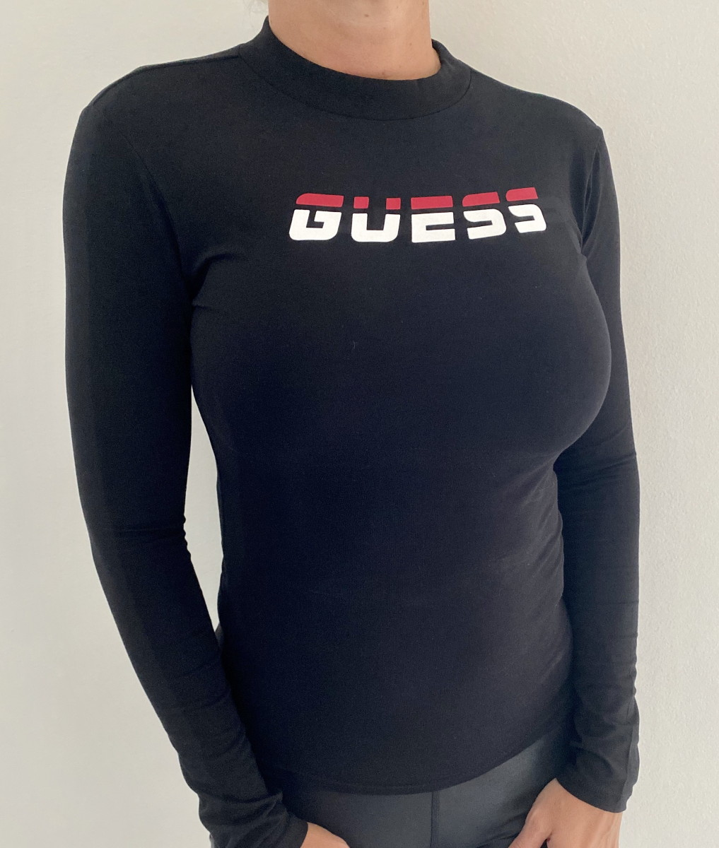 Dámské triko GUESS O0BA0P černá