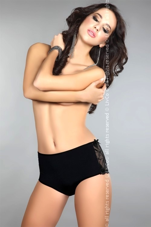 Dámské vyšší kalhotky Livia Corsetti Arina černé