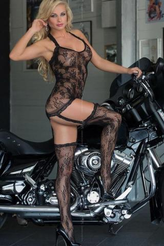 Dámský bodystocking Softline collection 6269 Crazy
