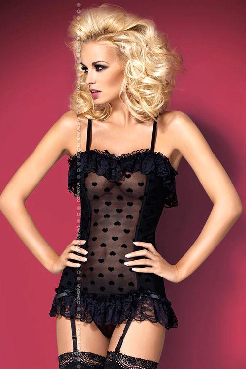 Dámský erotický korzet Obsessive Lovely corset