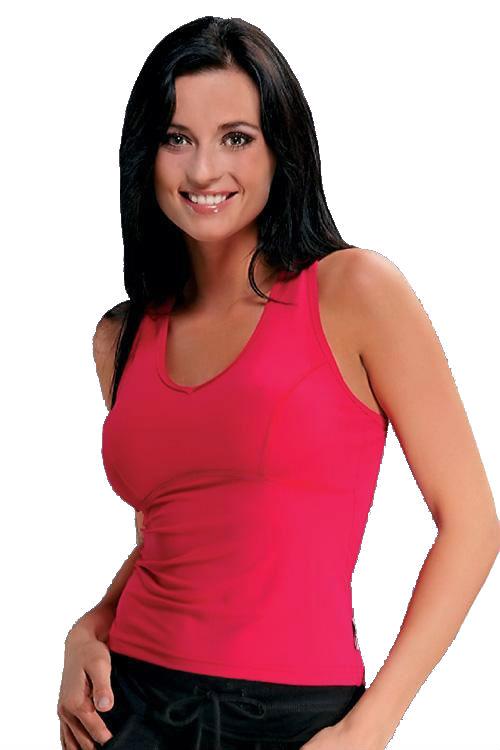 Dámský fitnes top Winner Perla pink