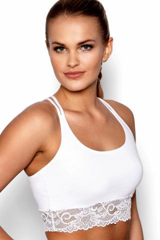 Dámský fitness top Eldar Aurora bílý