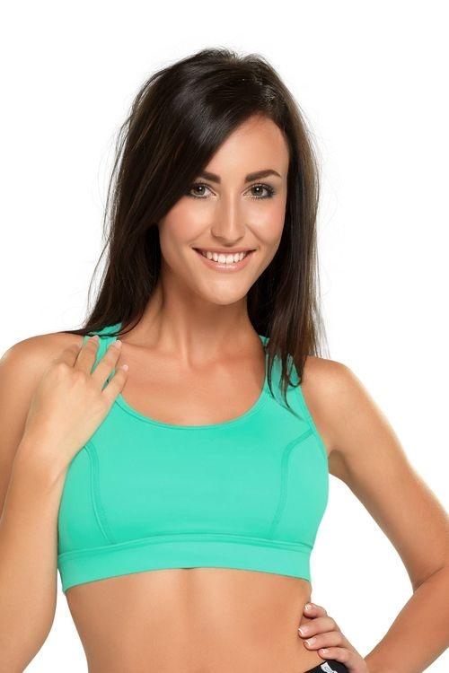 Dámský fitness top Winner Hana V zelený