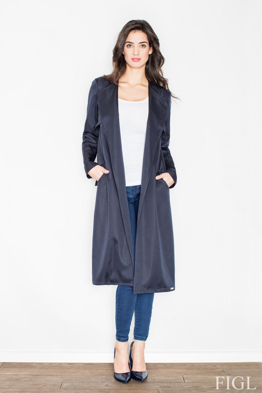 Dámský kabát FIGL M427 granátový