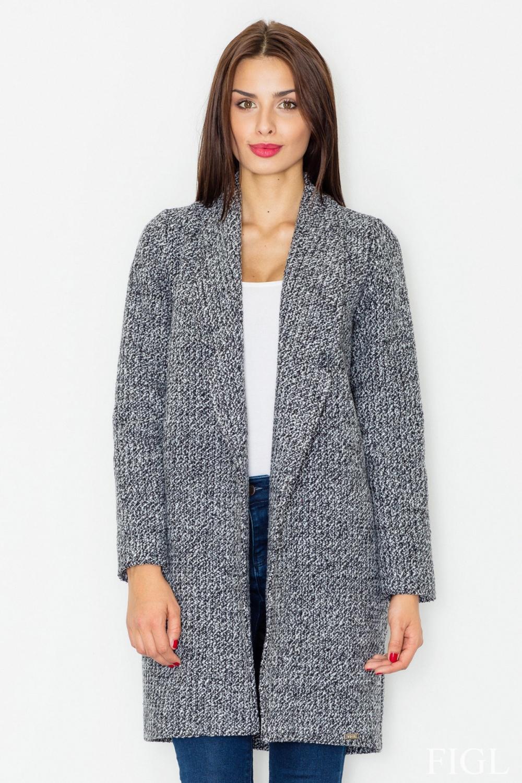 Dámský kabát FIGL M531 melange