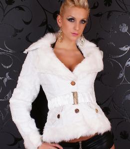 Dámský kabátek Queen o.f. st-bu01wh