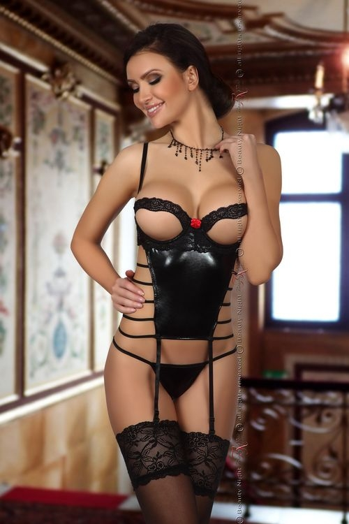 Dámský korzet Beauty Night Fashion Angelina corset black