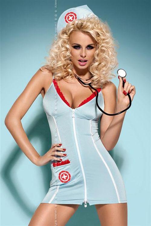 Dámský kostým Obsessive Doctor dress stetoskop