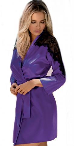 Dámský krátký župan DKaren Marion dark violet
