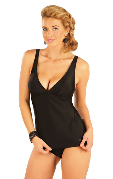 Dámský plavkový top s kosticemi Litex 57430 černý
