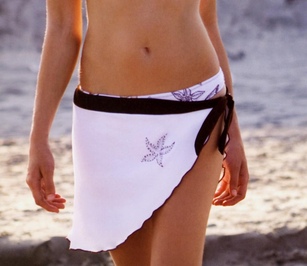 Dámský plážová šátek Lormar Shell