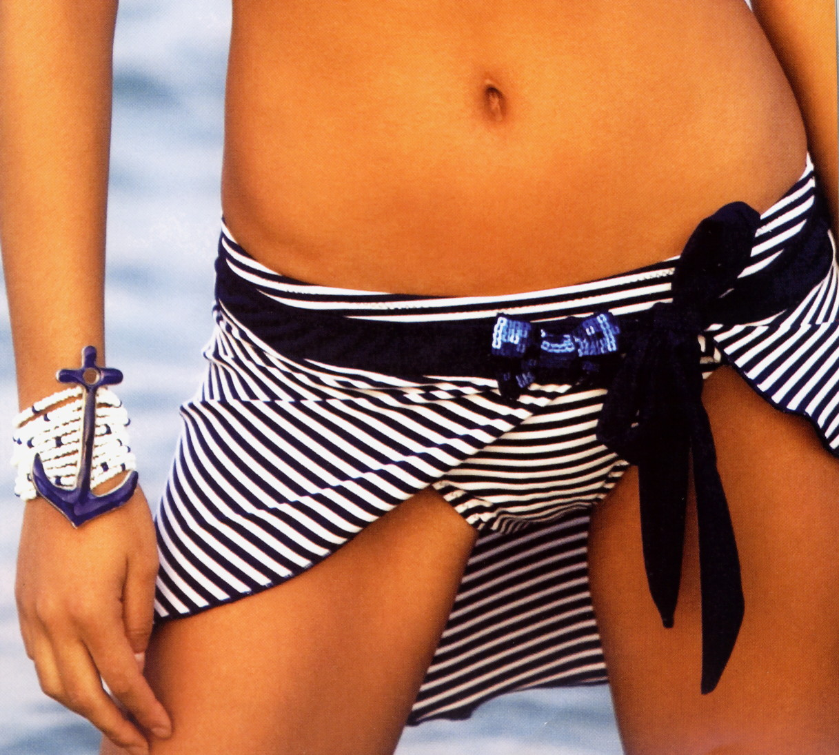Dámský plážový šátek - pareo Lormar Surf