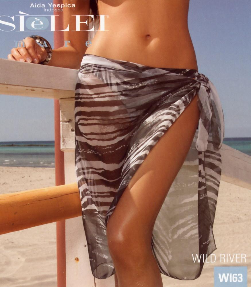 Dámský plážový šátek - pareo Siélei WI63 - VÝPRODEJ
