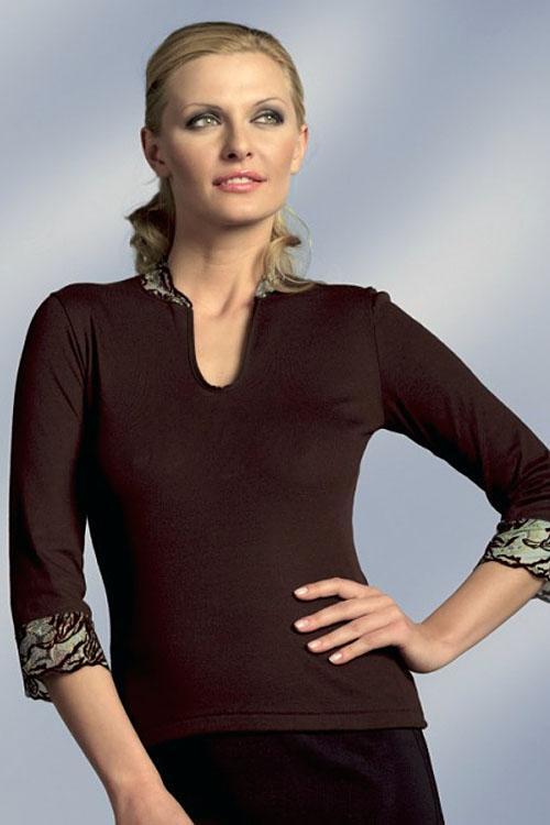 Dámský top Eldar Dolores - Top plus košilky větších rozměrů
