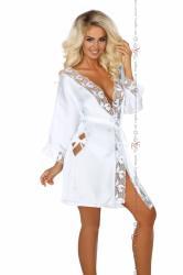 Dámský župan Beauty night fashion Ambrosia bílý